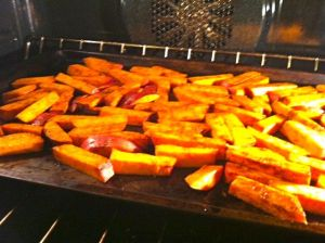 fries in oven