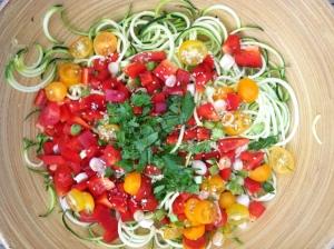 zucchinipastasalad